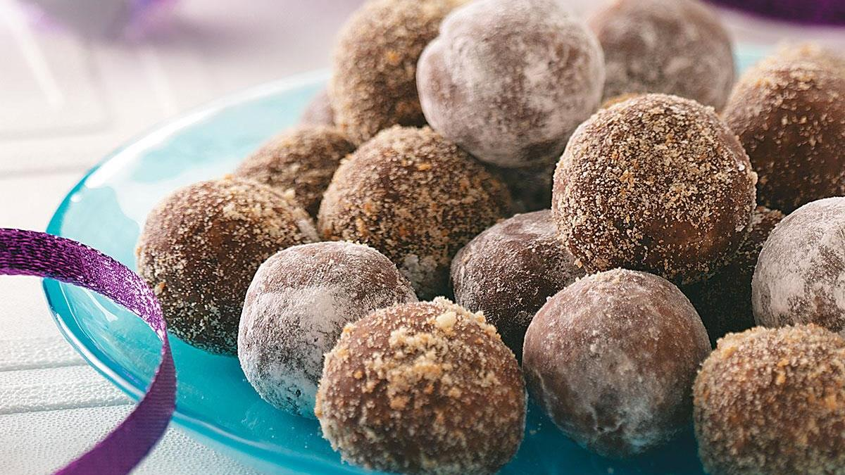 Rum balls recipe taste of home forumfinder Image collections