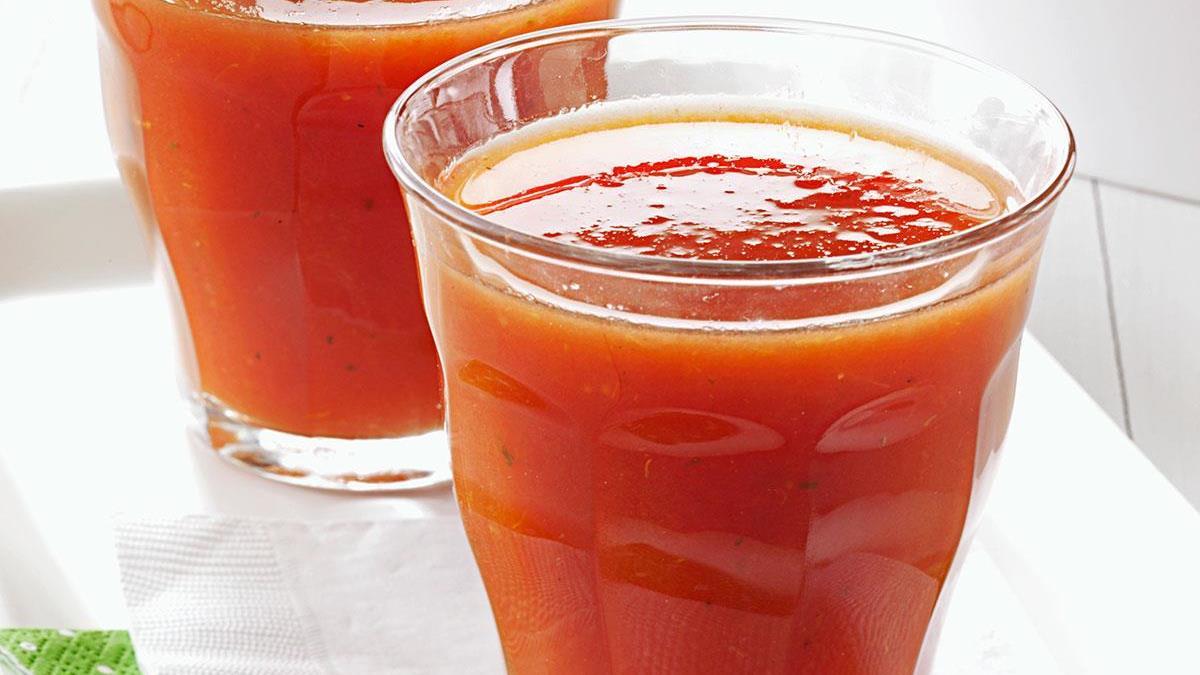 Spicy Tomato Juice Recipe | Taste of Home