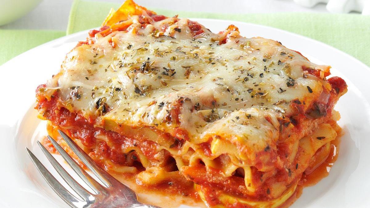 Vegetable Lasagna Recipe How To Make It Taste Of Home