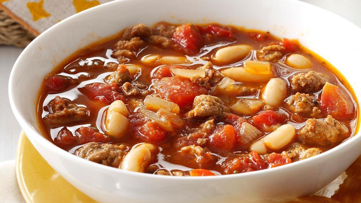 White Bean Turkey Chili Recipe How To Make It Taste Of Home