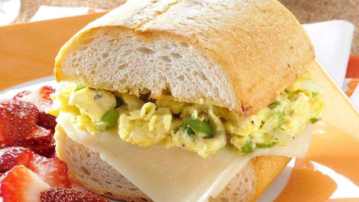 Scrambled Egg Sandwich Recipe Taste Of Home