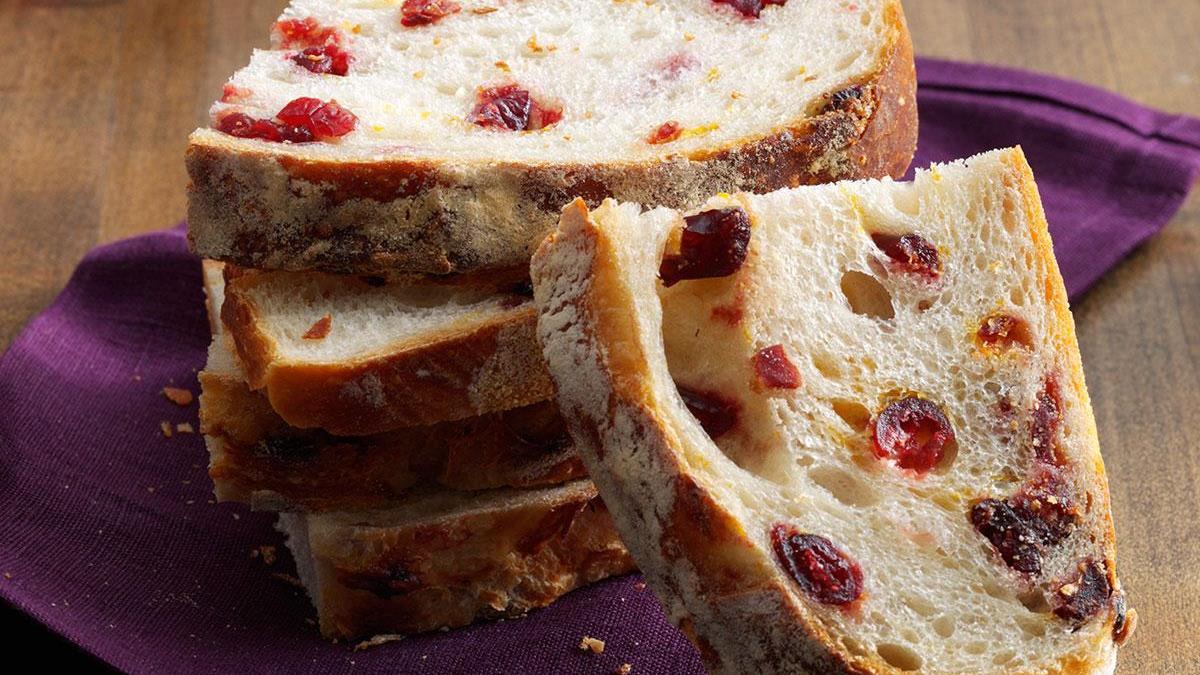 Rustic Cranberry Orange Bread Recipe How To Make It Taste Of Home