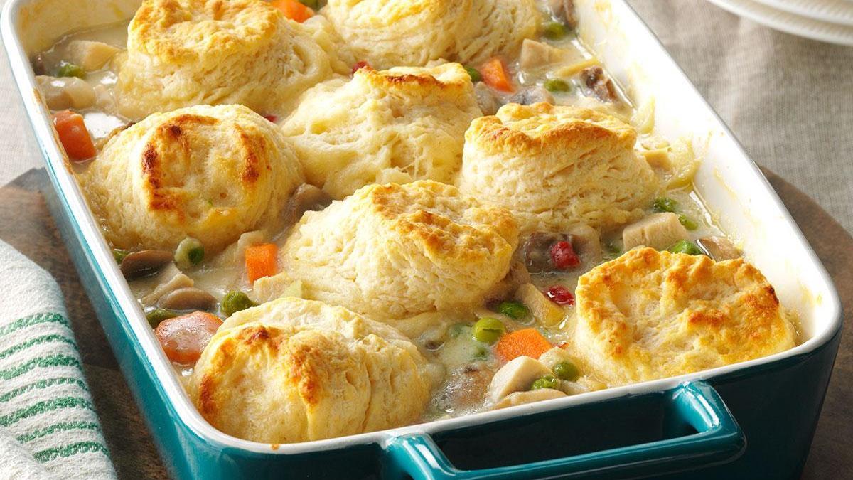 Chicken Potpie Casserole Recipe Taste Of Home