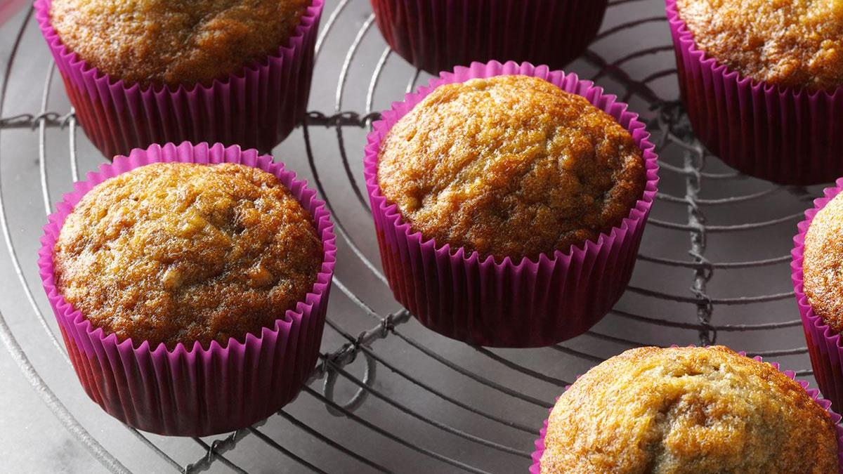 Basic Banana Muffins Recipe How To Make It Taste Of Home