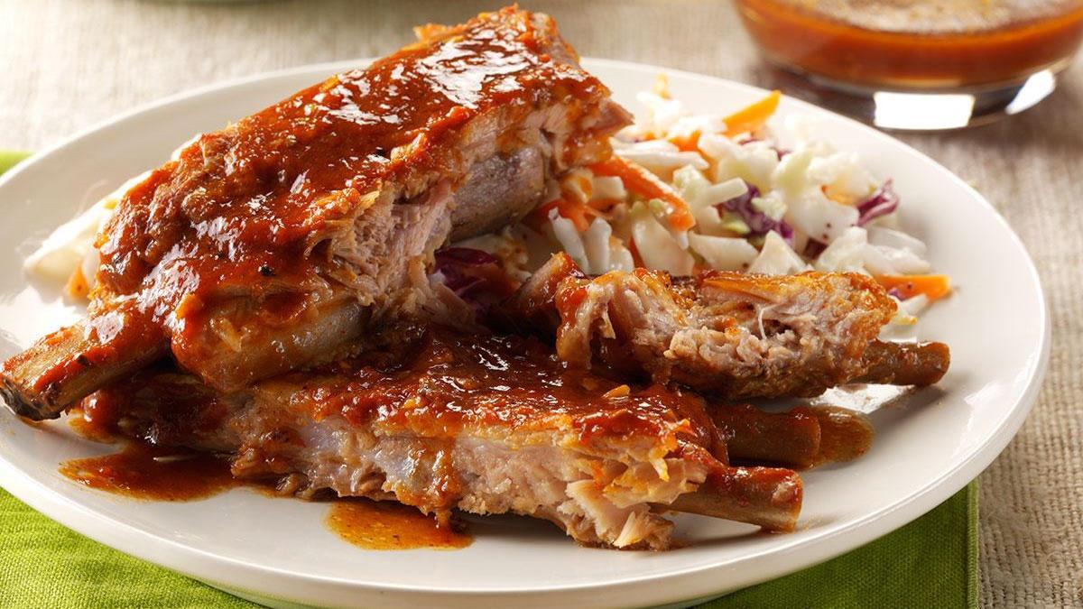 Tender N Tangy Ribs Recipe Taste Of Home Babi Panggang