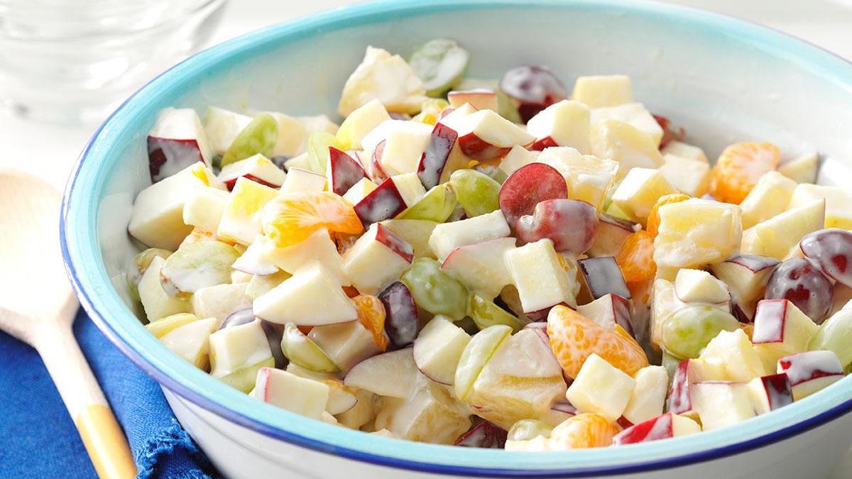 company fruit salad recipe taste of home