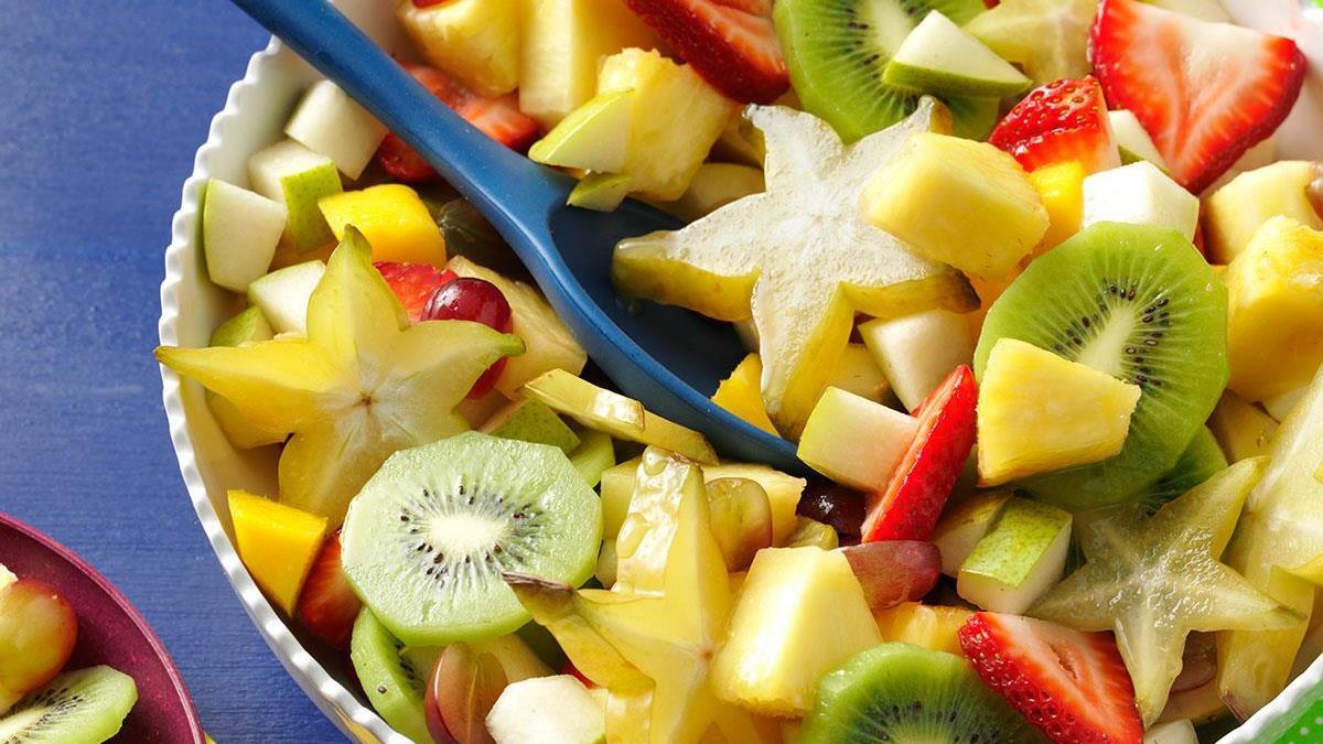 salad buah kiwi
