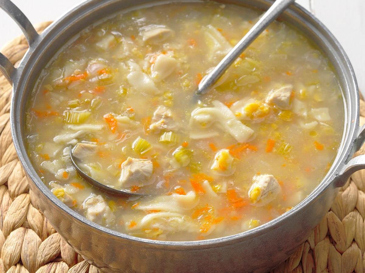Amish Chicken Corn Soup
