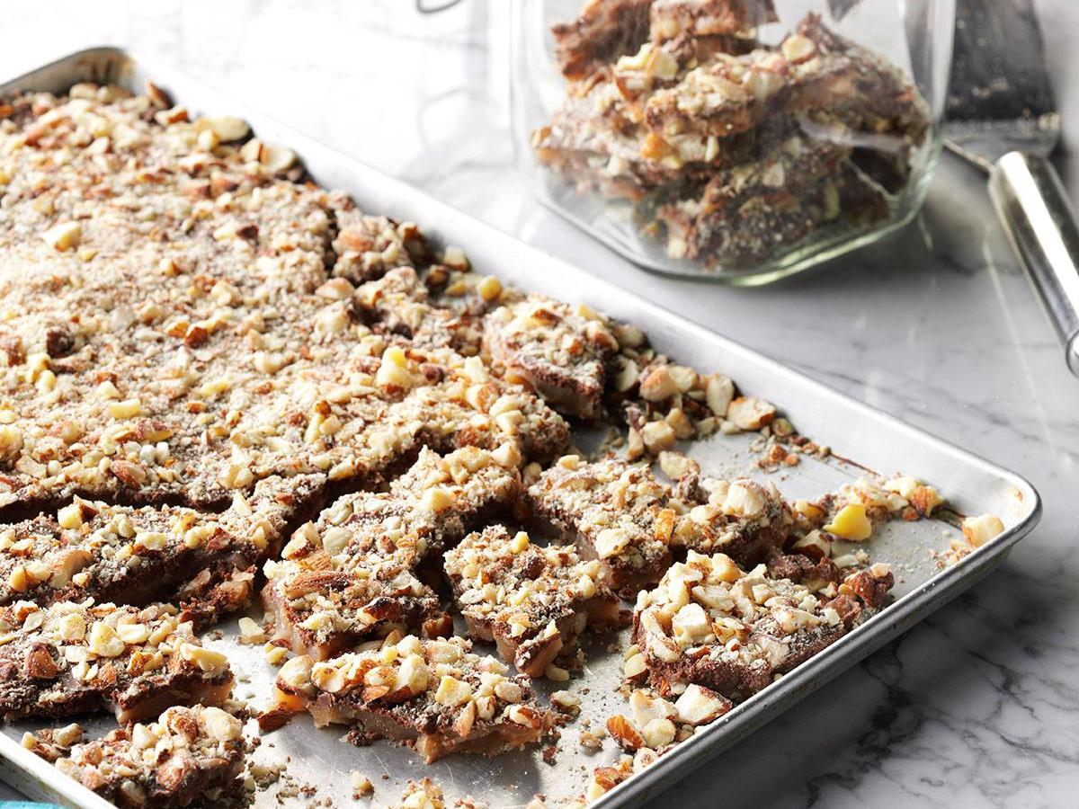 Aunt Rose's Fantastic Butter Toffee