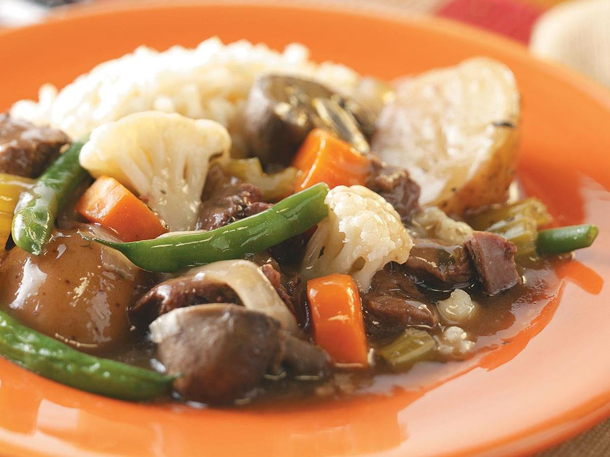 Beef And Lamb Stew Recipe How To Make It Taste Of Home