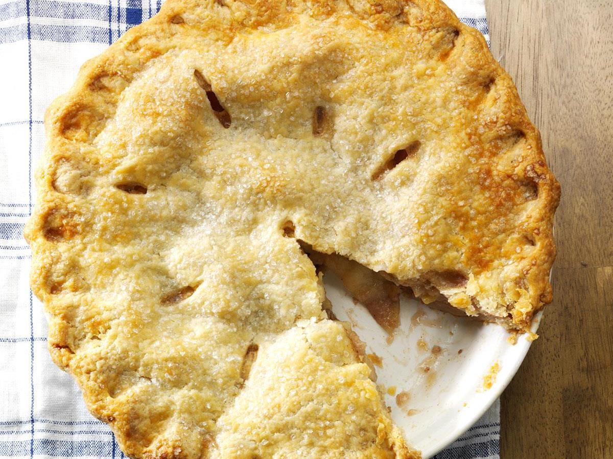 blue ribbon apple pie recipe taste of home - Americas Test Kitchen Apple Pie