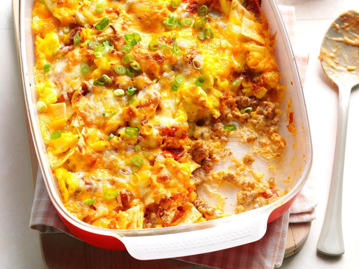 Breakfast Burrito Casserole