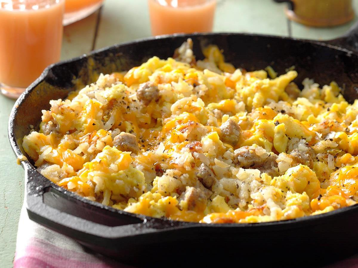 Campers Breakfast Hash Recipe
