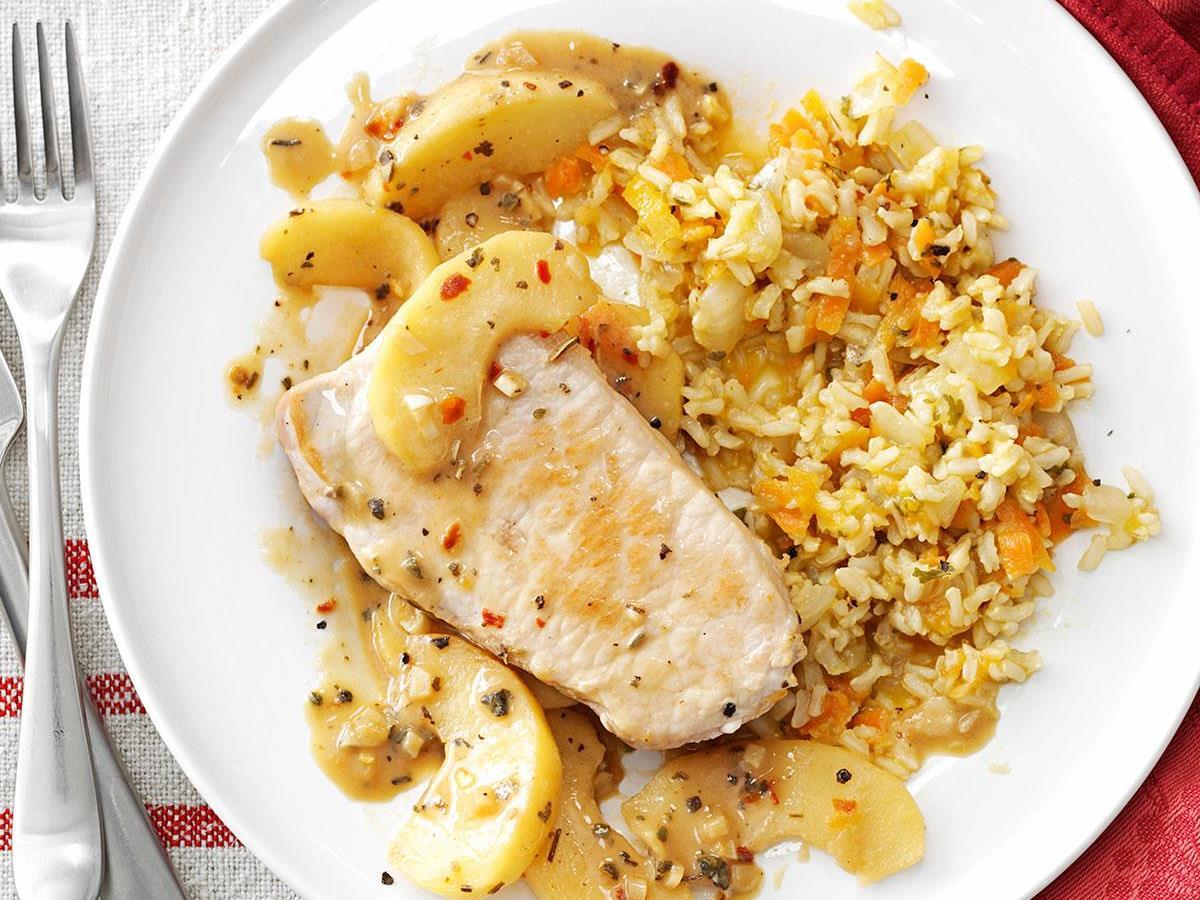 Carrot Brown Rice Pilaf