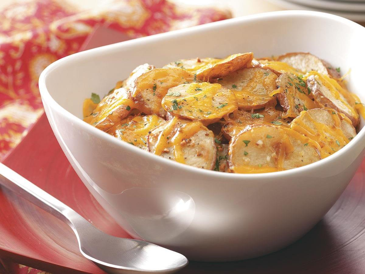 Cheese and Onion Potatoes