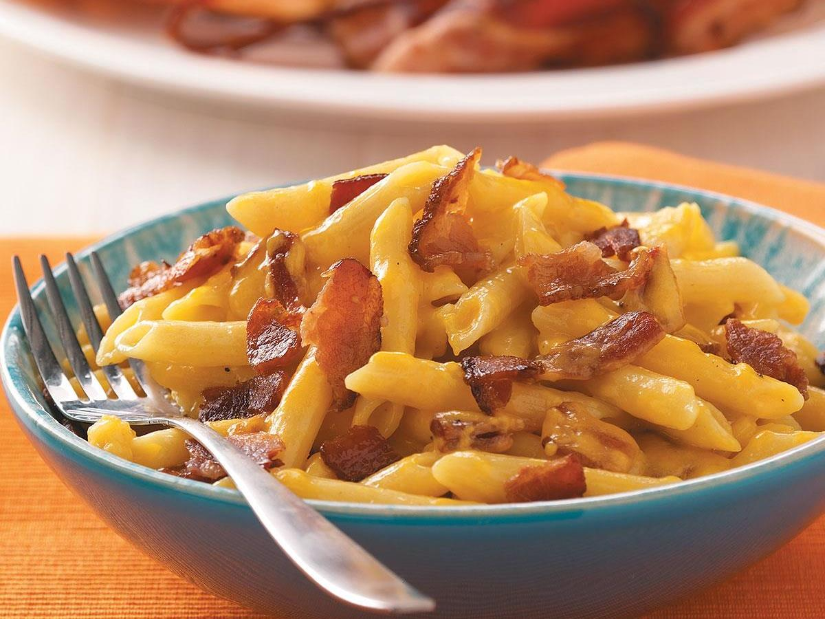 Cheesy Bacon Penne