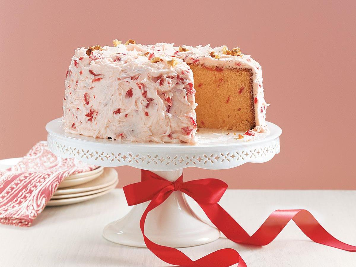 Cherry Pound Cake Recipe Taste Of Home