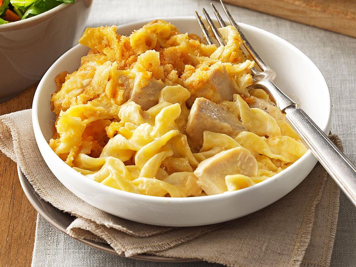 Chicken Egg Noodle Casserole Recipe How To Make It Taste Of Home