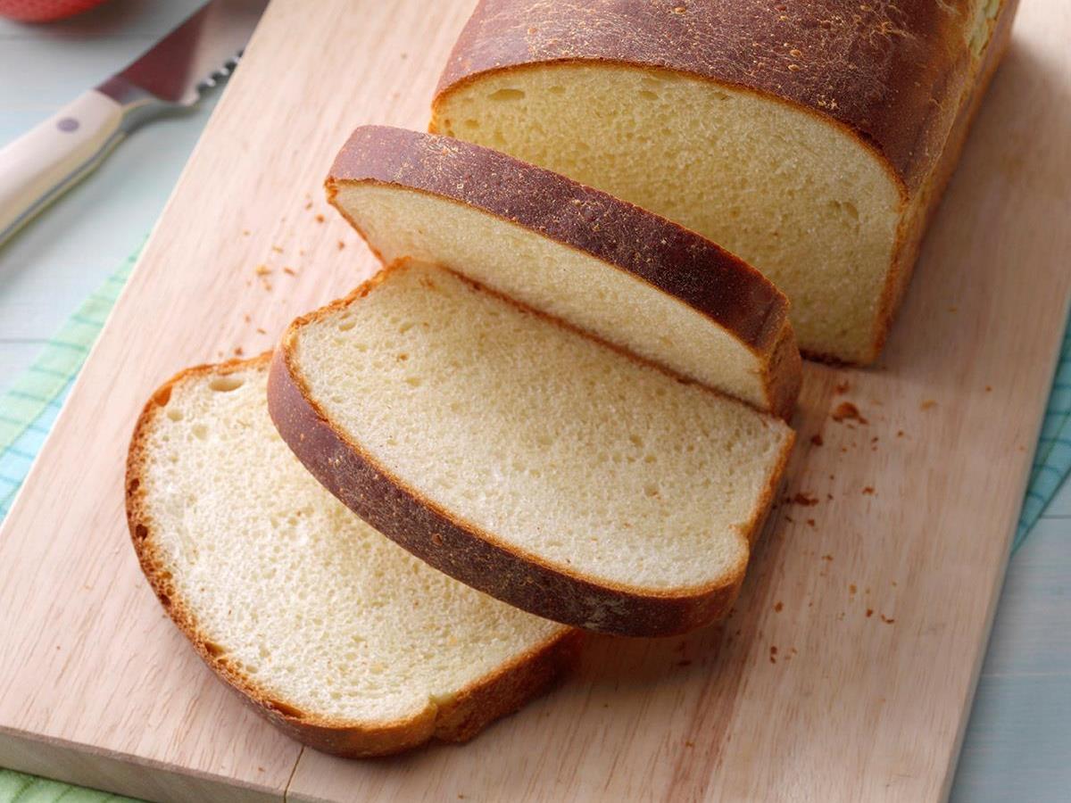 country white bread recipe taste of home