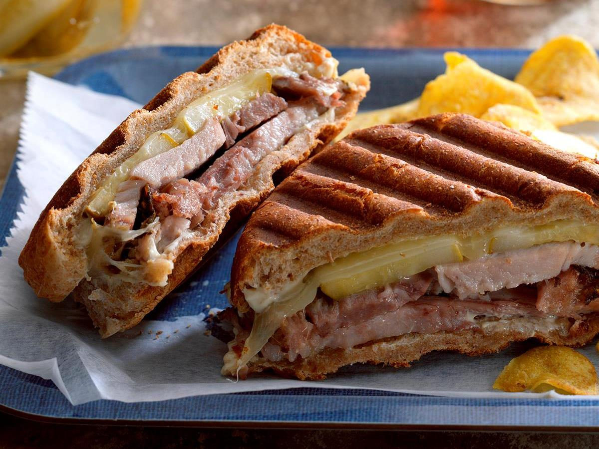 Cuban-Style Pork Sandwiches