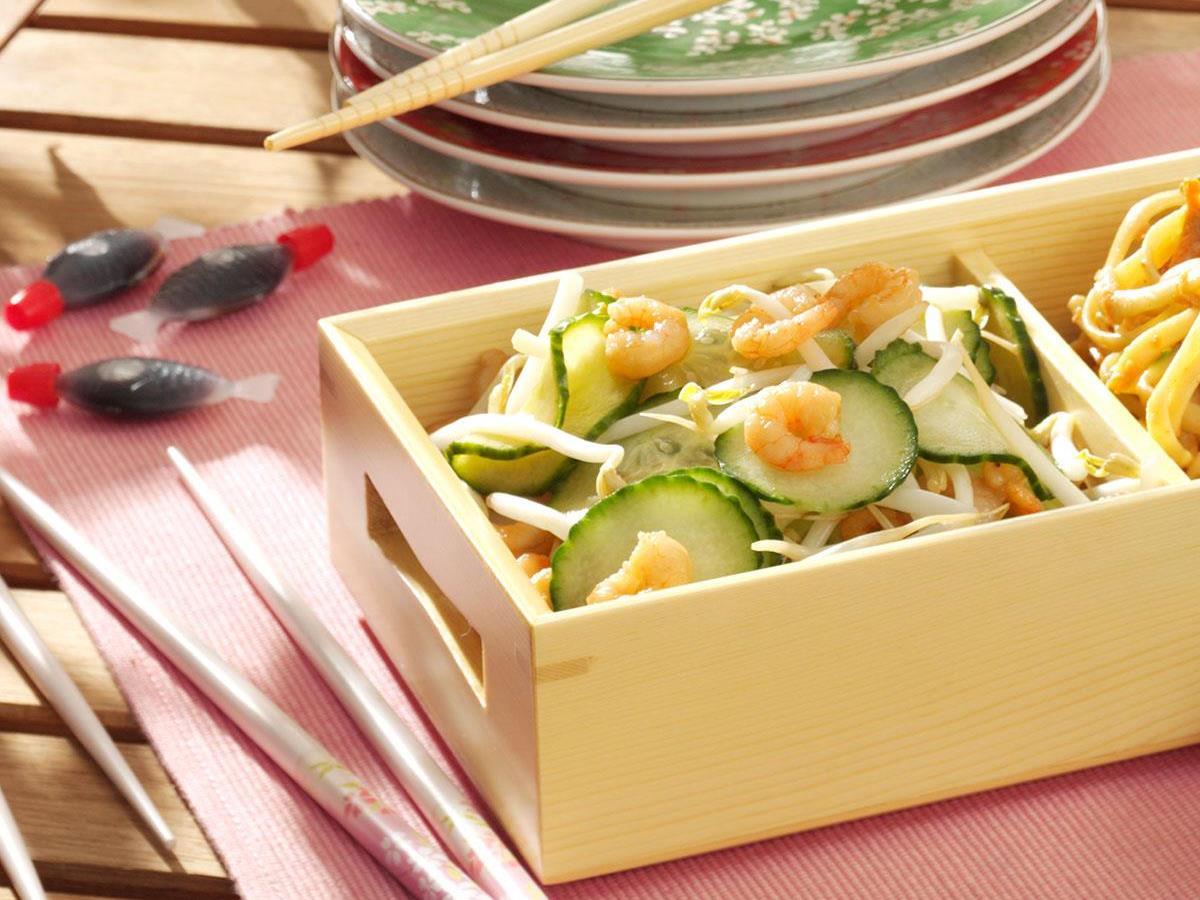 Japanese Cucumber Shrimp Salad Recipe