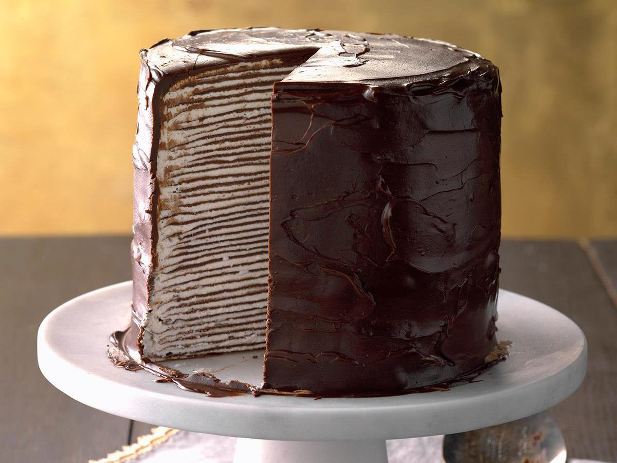 Decadent Chocolate Crepe Cake