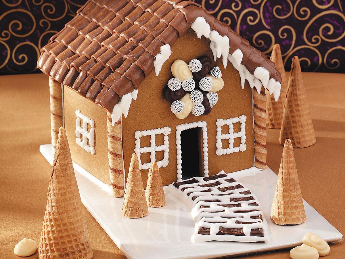 Mini Gingerbread House Recipe Taste Of Home