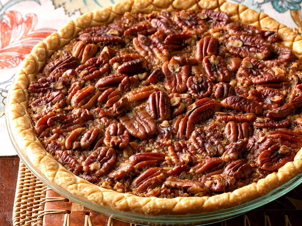 Easy Bourbon Pecan Pie Recipe How To Make It Taste Of Home
