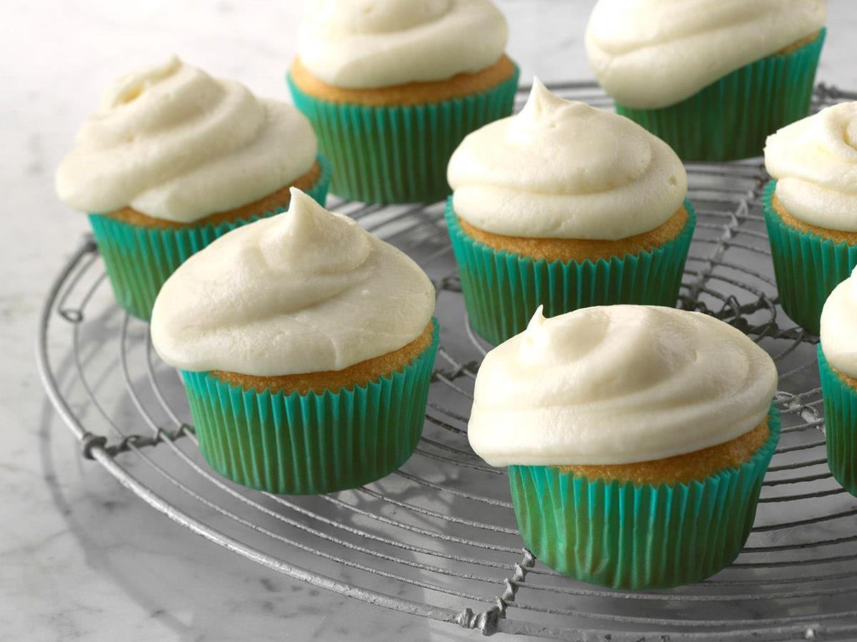 Easy Vanilla Buttercream Frosting Recipe How To Make It Taste Of Home