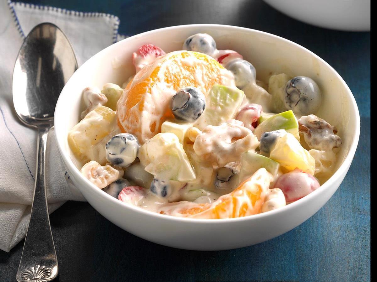 recipe: eggnog and cranberry salad [34]