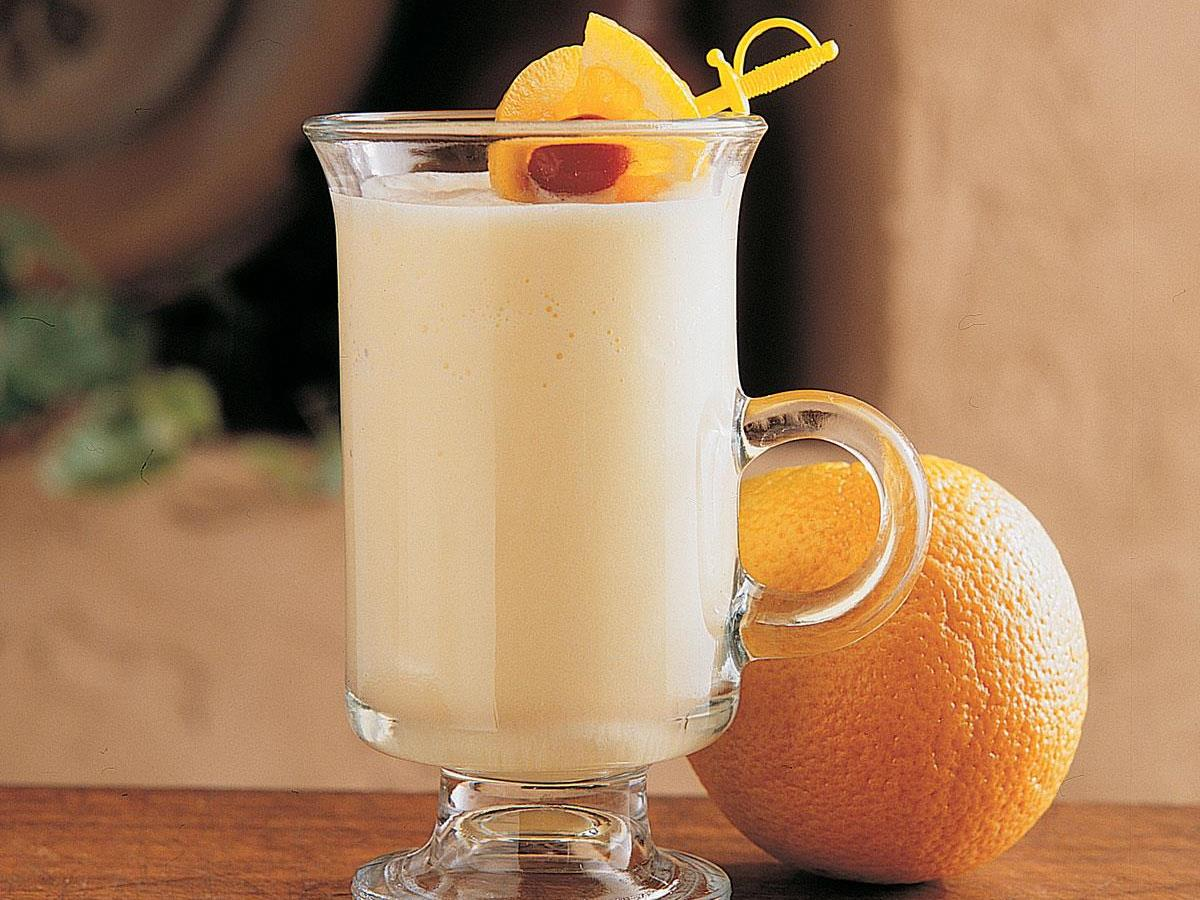 Frosty Orange Smoothie