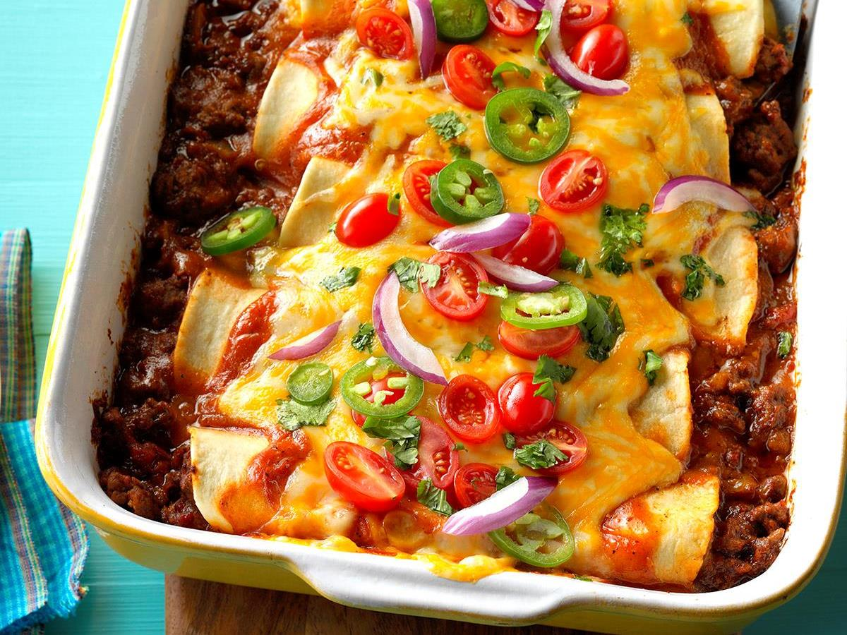 Top Mexican Dinner Recipes Taste Of Home