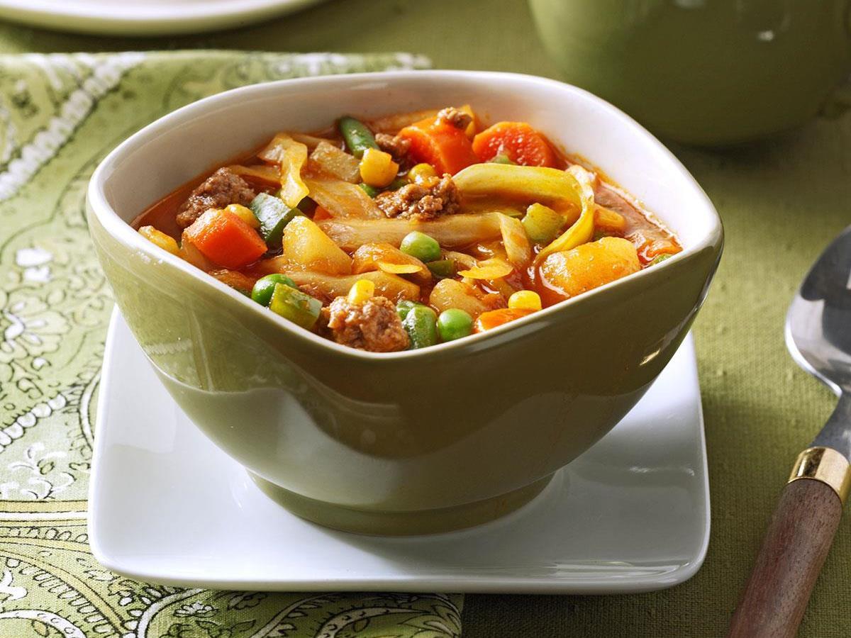 German vegetable soup recipe taste of home forumfinder Gallery