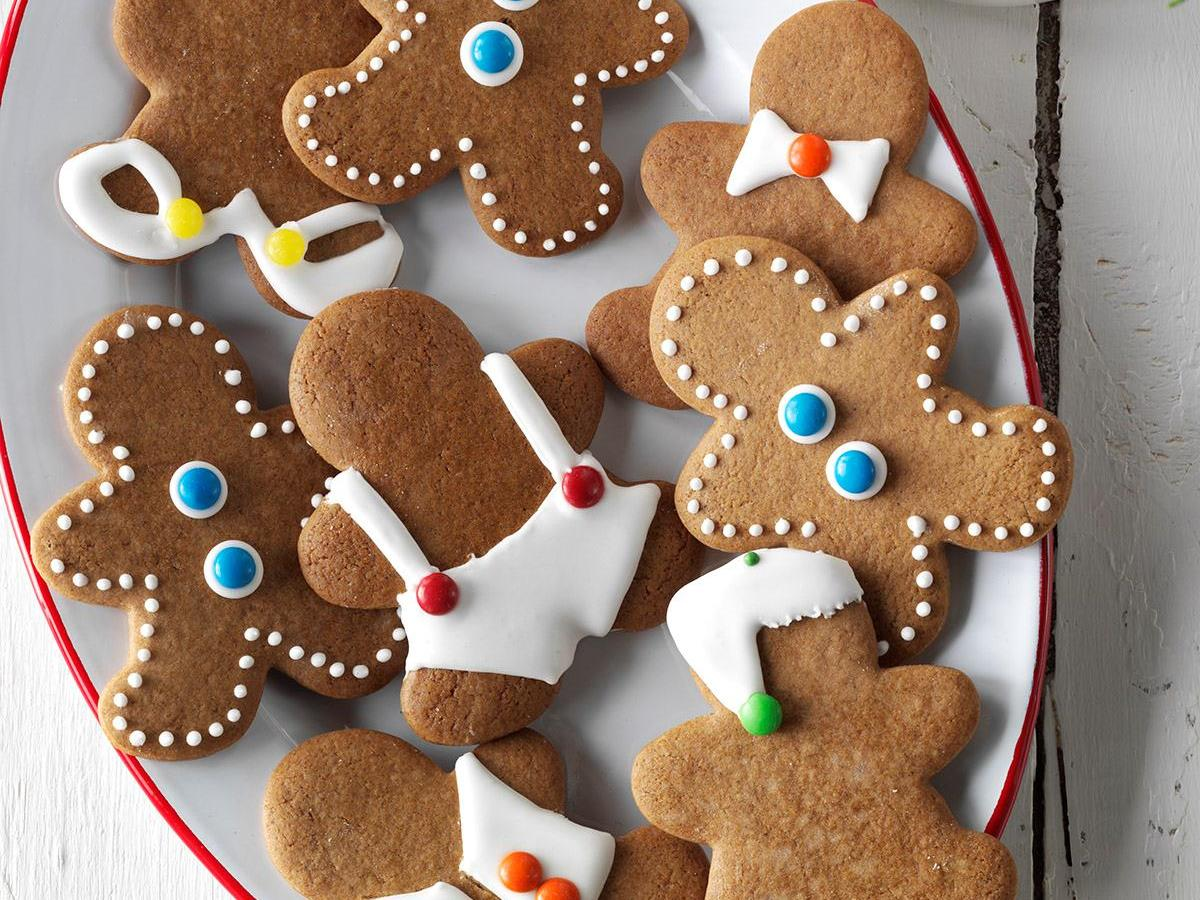 Gingerbread Men Cookies Recipe How To Make It Taste Of Home