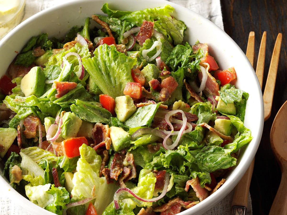 Guacamole Tossed Salad Recipe How To Make It Taste Of Home