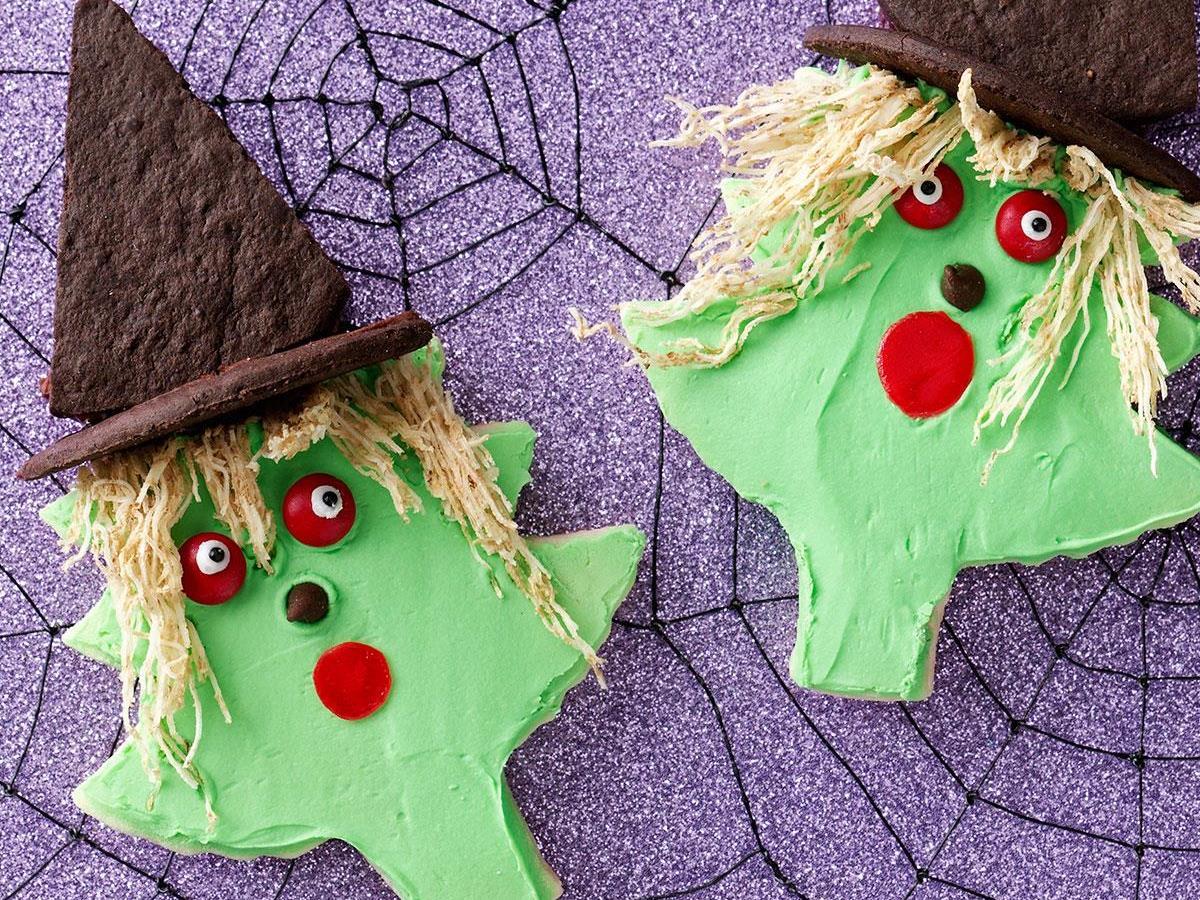 Halloween Cutout Cookies