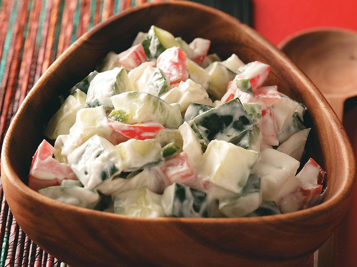 Cucumber Salad Recipe Indian