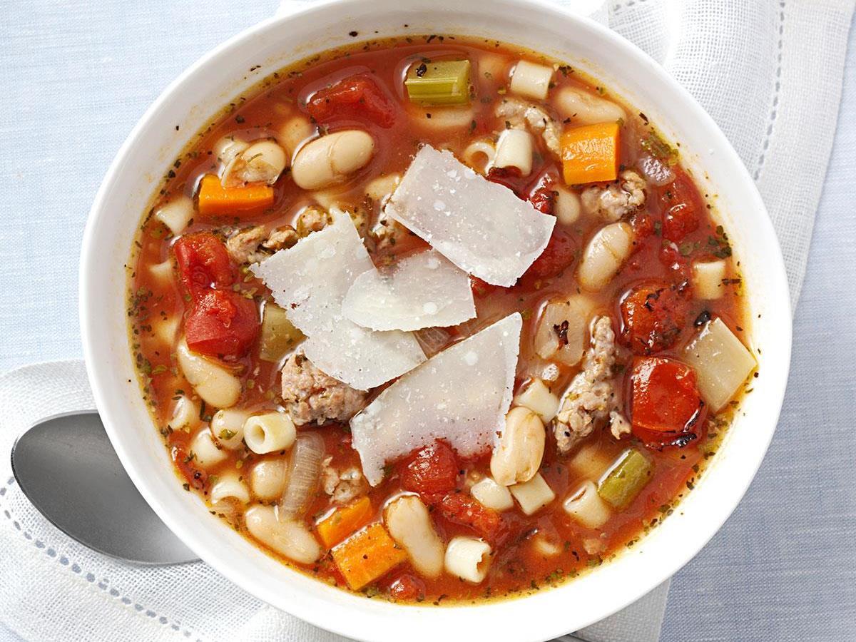 Italian Sausage Minestrone