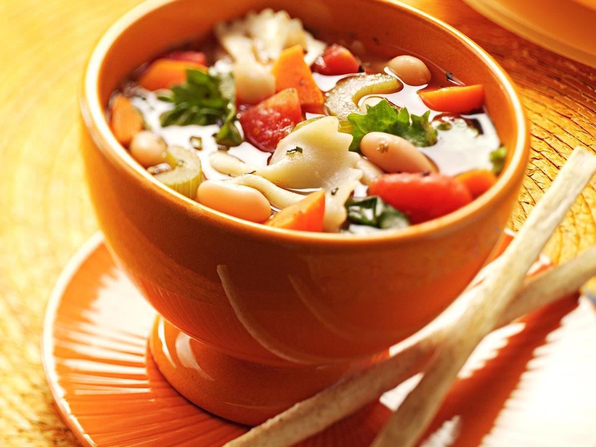 Italian Vegetable Soup Recipe Taste Of Home - Italian vegetable soup