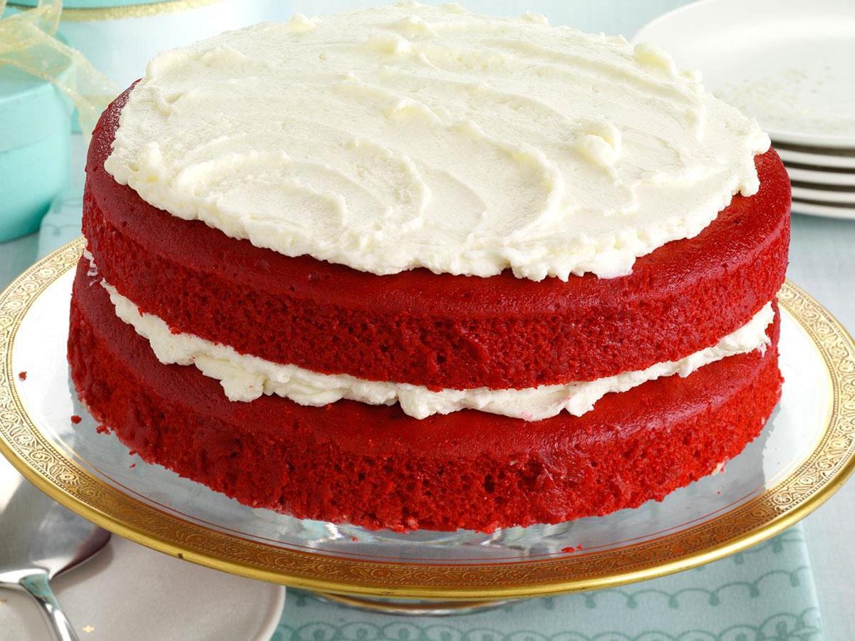 Makeover Red Velvet Cake Recipe   Taste of Home