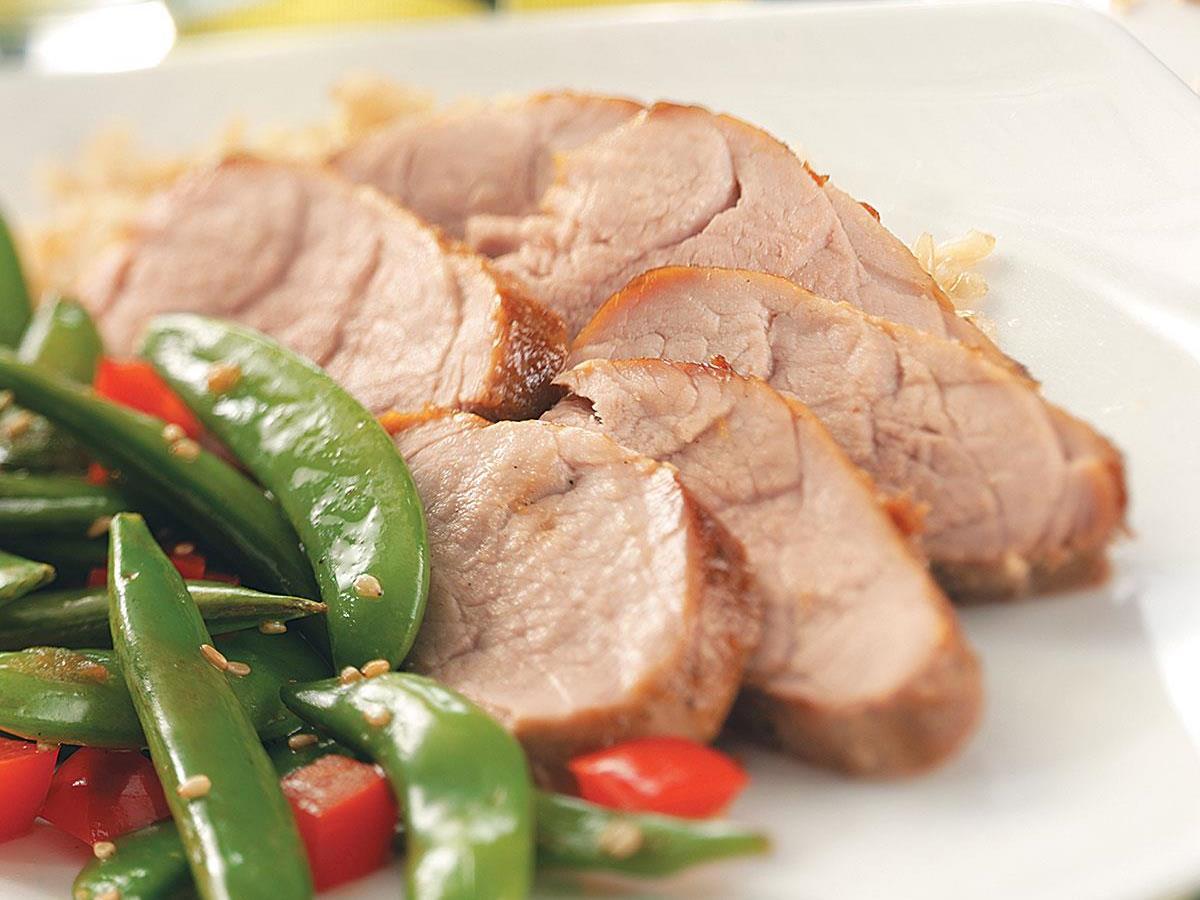 Marinated Asian Pork Tenderloin