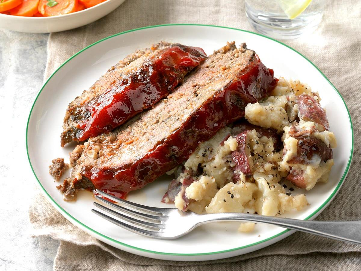 Meat Loaf & Mashed Red Potatoes