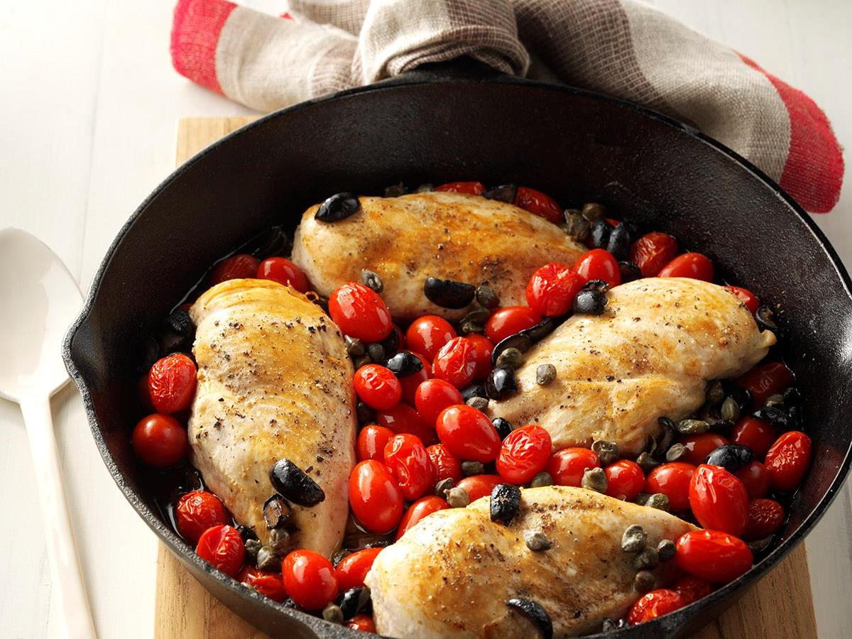 Mediterranean chicken taste of home forumfinder Images
