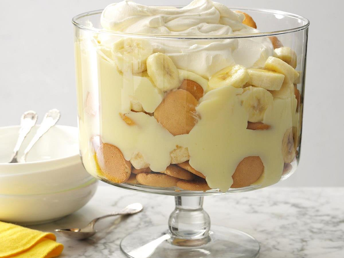 banana pudding When you're craving banilla, nothing hits the spot quite like homemade banana pudding even from-scratch versions of this potluck perennial require relatively few.