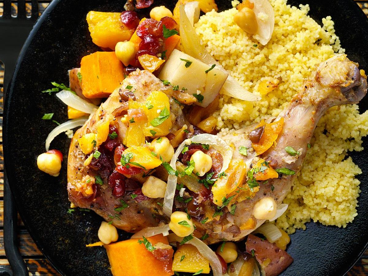 Moroccan vegetable chicken tagine recipe taste of home forumfinder Choice Image