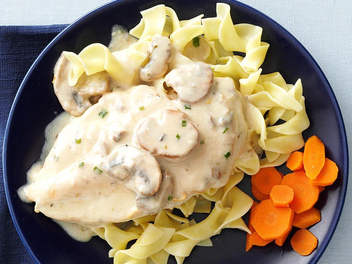 Mushroom & Herb Chicken