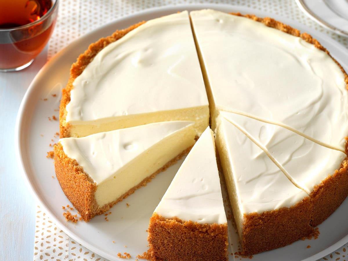 Old World Ricotta Cheesecake Recipe Taste Of Home