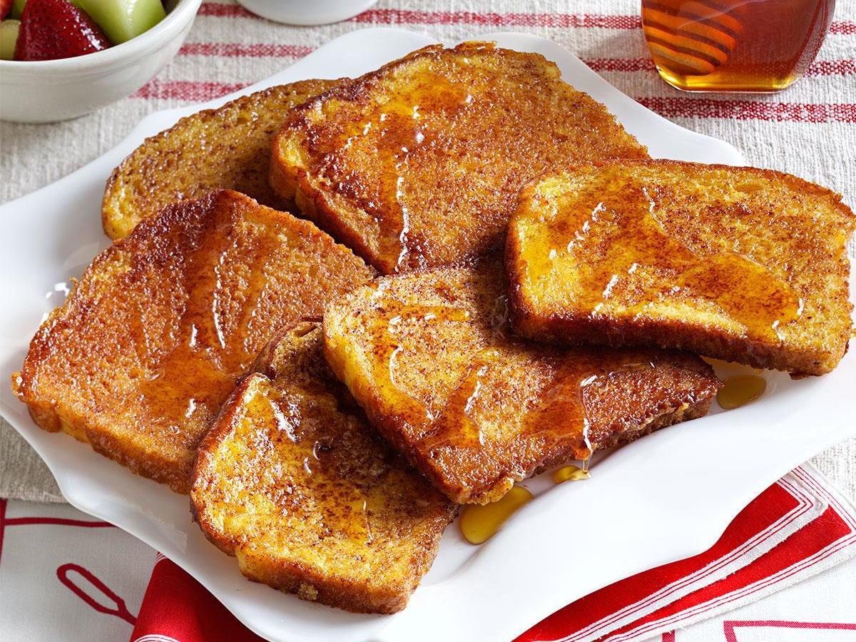 Orange-Cinnamon French Toast Recipe | Taste of Home
