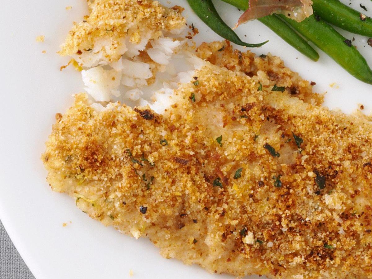 Parsley-Crusted Cod