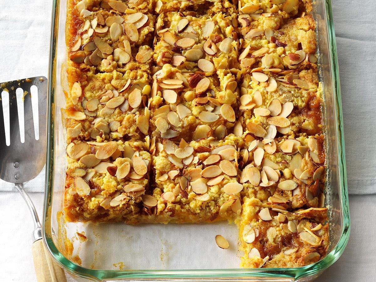 Peach Cobbler Dump Cake Recipe Taste Of Home